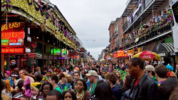 Bourbon Street Super Bowl 2013