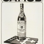 Vintage French Poster of Camus Cognac