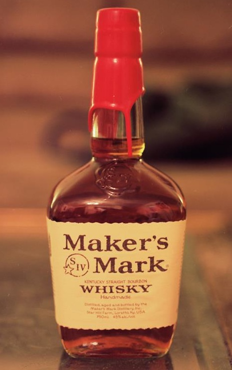 Makers Mark Bourbon Whisky