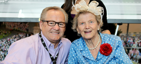 Penny Chenery and Ron Turcotte