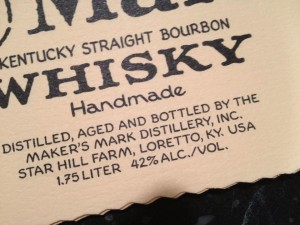 Maker's Mark new label
