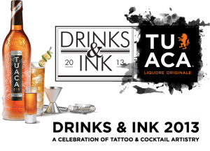 TUACA Drinks and Ink Tour