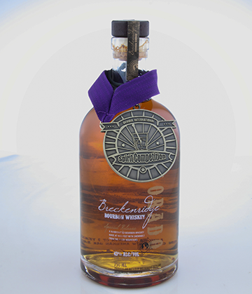 Breckenridge Bourbon wins a Gold Medal at the 2013 Denver International Spirits Competition