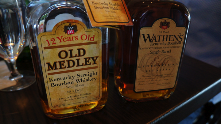 The two bourbons from Charles Medley Distillery both won high honors. Old Medley 12 Year won a Double Gold and Best of Show for the highest rated spirit at Denver International Spirits Competition. Wathen's Bourbon won a Gold Medal