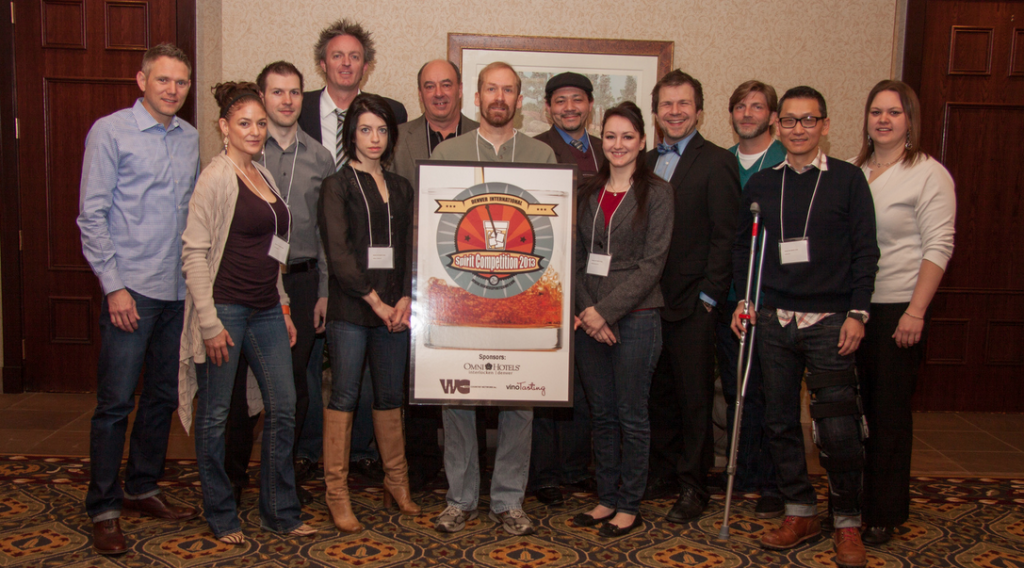 Denver International Spirits Competition Judges for 2013