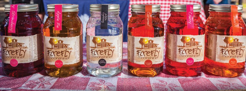 Firefly Moonshine Flavors
