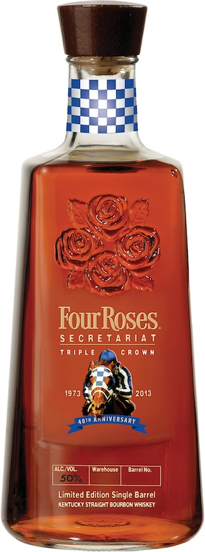 Four Roses Secretariat Single Bourbon Bottle