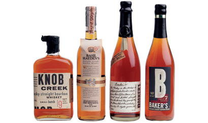 Jim Beam Small Batch Bourbon Collection: Knob Creek, Basil Hayden's, Booker's, and Baker's Bourbon