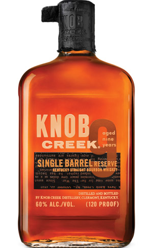 Knob Creek Single Barrel Reserve 120 proof Bourbon