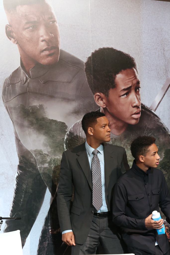 Will Smith and son Jaden Smith on tour promoting After Earth