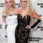 Twin sisters Priscilla Barnstable and Patricia Barnstable-Brown at Barnstable Brown Gala, 2013