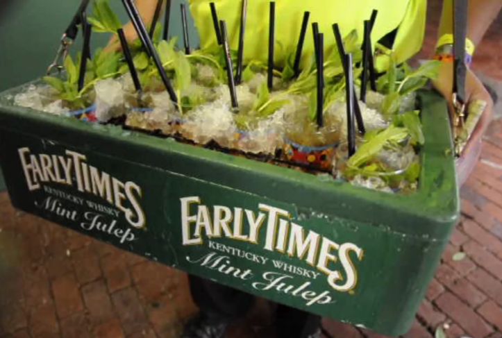 Early Times Mint Juleps at Kentucky Derby
