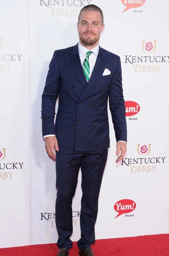 Stephen Amell at Kentucky Derby 139