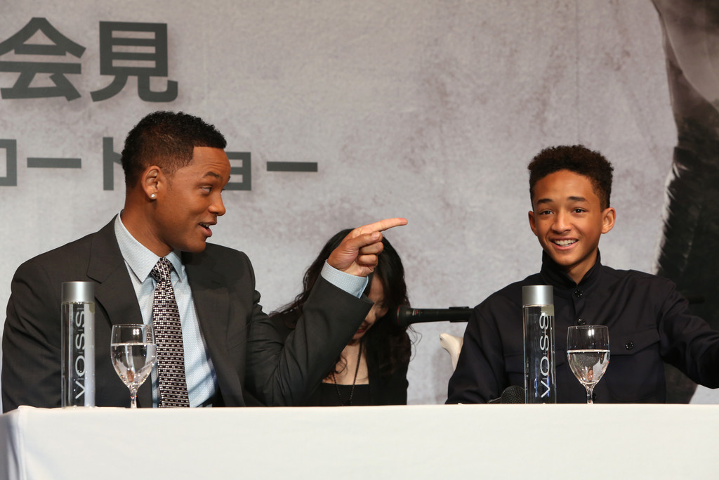 After Earth with Will Smith and Jaden Smith