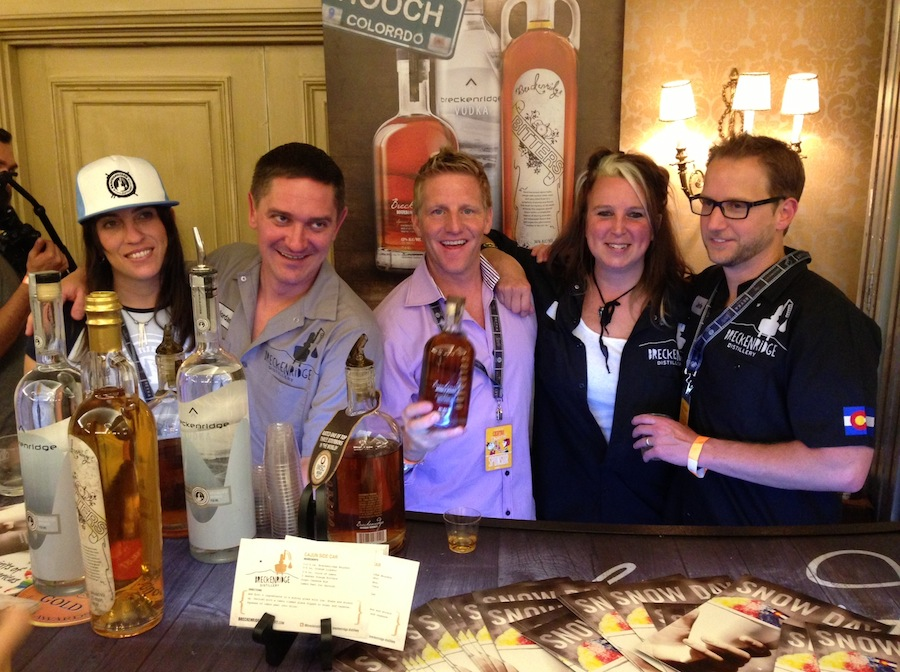Maya, Jordan, Litch, Billie and Bryan from Breckenridge Distillery