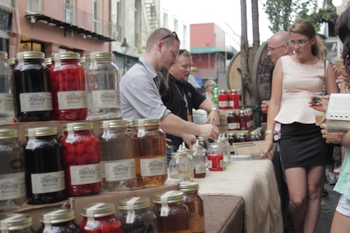 Justin King serves Ole Smoky Moonshine at Tales of the Cocktail 2013