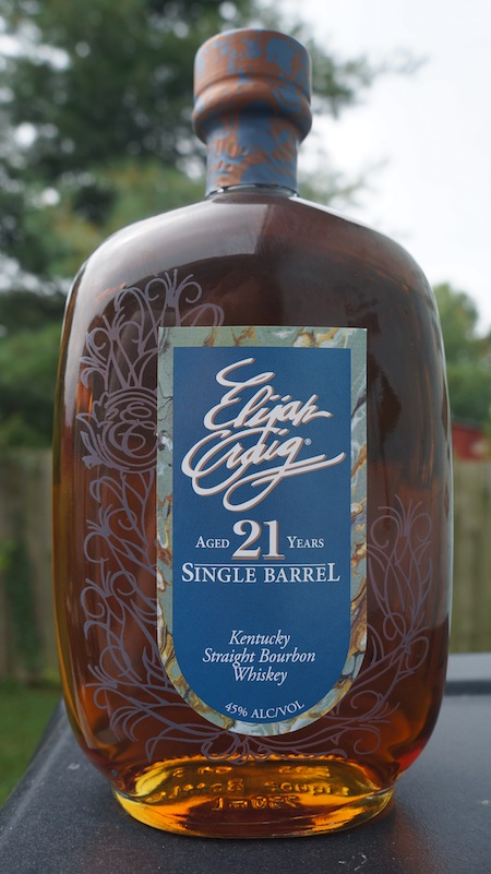 Elijah Craig 21 Year Old Single Barrel Bourbon