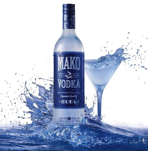 Mako Vodka Bottle