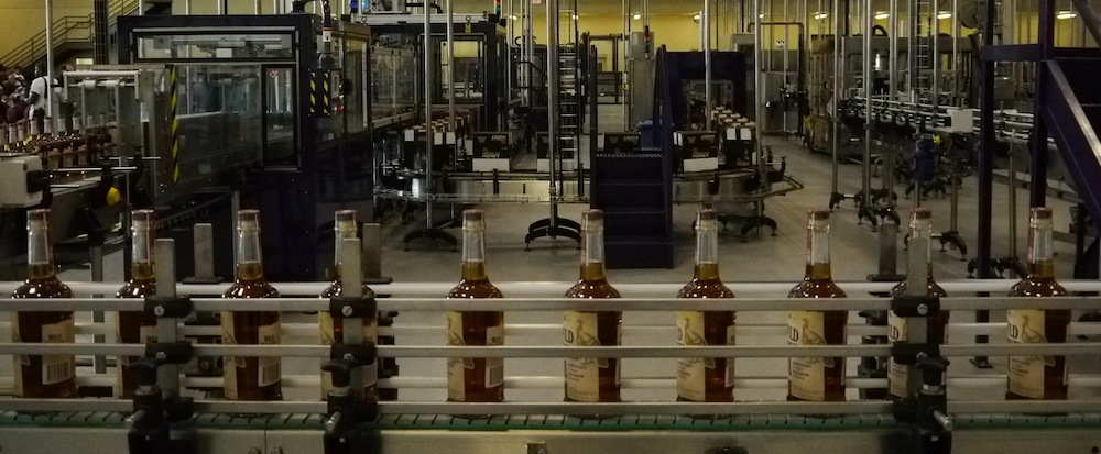 Wild Turkey Bottling Line