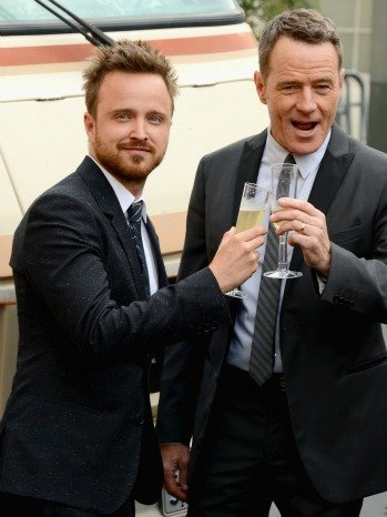 Aaron Pau and Bryan Cranston Breaking Bad