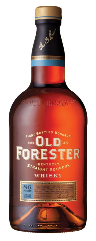 Old Forester Bottle