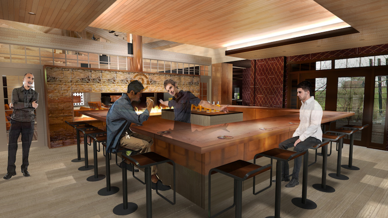 Woodford Reserve Visitor Center renovations
