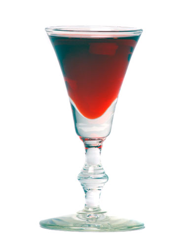 Liqueur cocktail