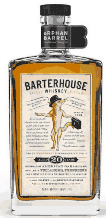 Barterhouse whiskey