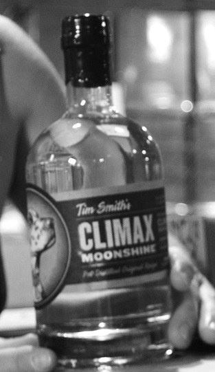 Climax Moonshine bottle