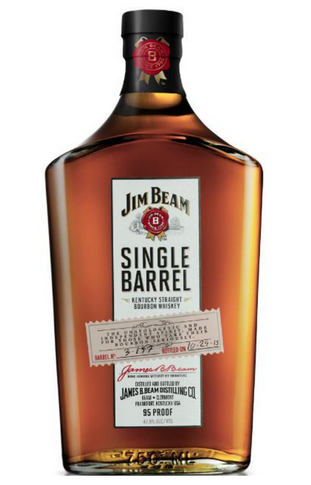 Jim Beam Single Barrel bottle