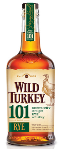 Wild Turkey Rye 101 new bottle
