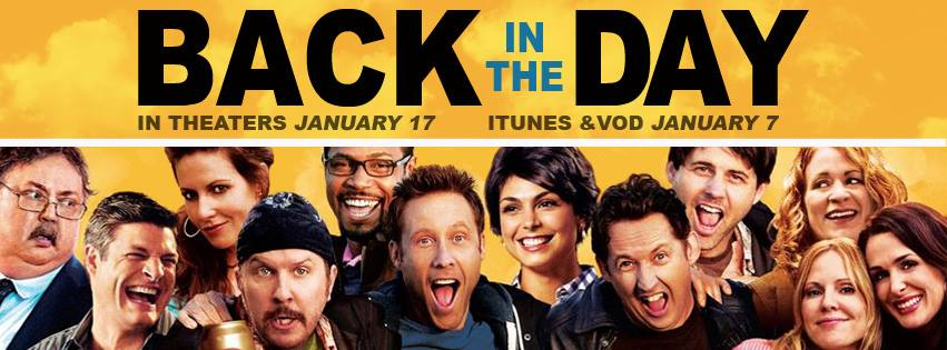 Back in the Day movie poster