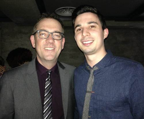 Matt Capucilli and Ted Allen Chopped