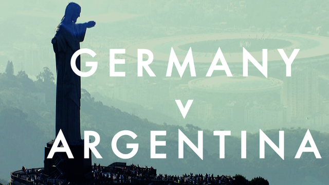 Germany vs Argentina World Cup