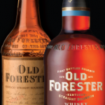 Antique Old Forester Bottle