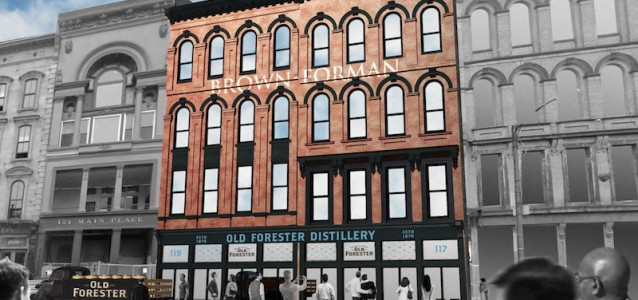 Old Forester Distillery Louisville