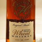 Parker's Heritage 13 year Old Wheat whiskey 2014