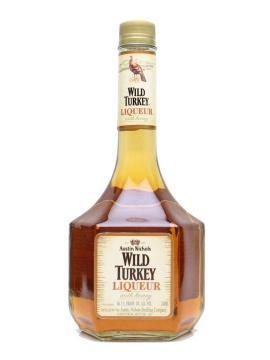 Wild Turkey Honey Liqueur old bottle