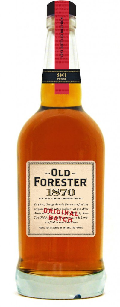 Old Foreter 1870 Bourbon bottle