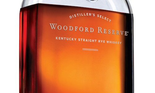 Woodford Reserve Rye Whiskey bottle