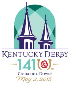 Kentucky Derby 141 Logo 2015