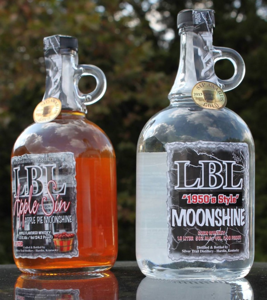 LBL Moonshine Silver Trail Distillery