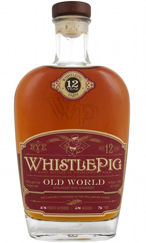 WhistlePig 12 Year Old World Whiskey