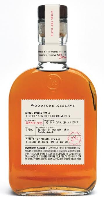 Double double Oaked Woodford Reserve Bourbon