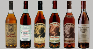 Recovered Pappy Van Winkle Bourbon