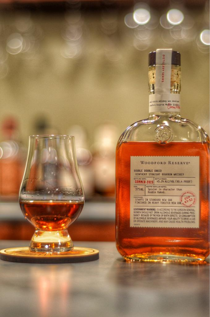 Double Double Oaked Woodford Reserve