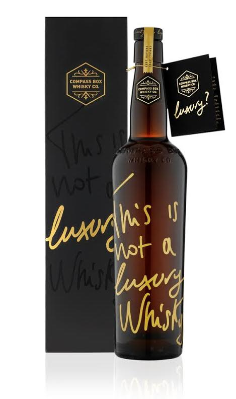This is Not a Luxury Whisky Compass Box