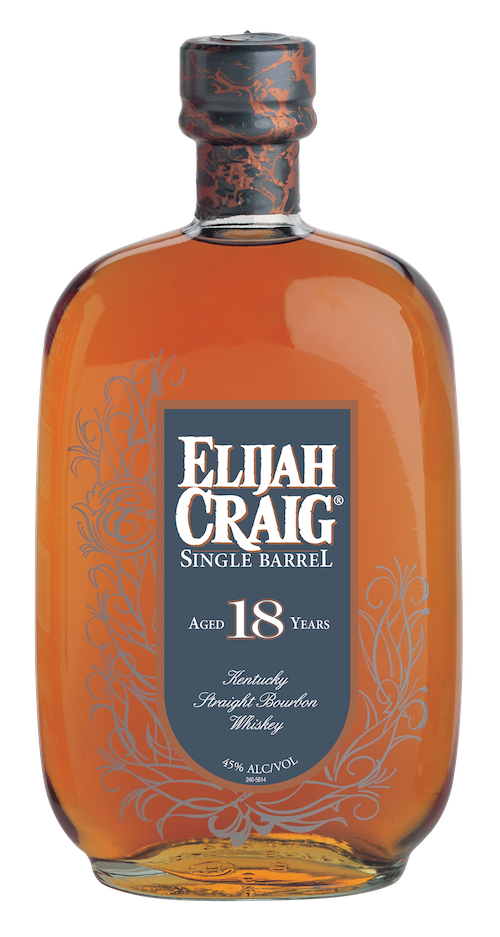 Elijah Craig 18 year old bourbon new label