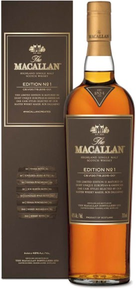 The Macallan Edition No. 1 Scotch