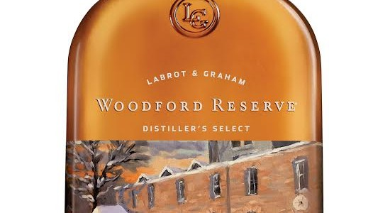 Woodford Reserve Holiday Christmas Bottle 2015